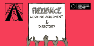 freelance working agreement- provided by march for the arts
