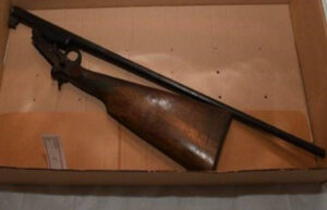 Picture of shotgun provided by Merseyside Police