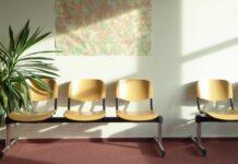 'Just wait' courtesy of Erich Ferdinand (Empty waiting room)