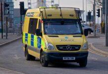 mersey police van